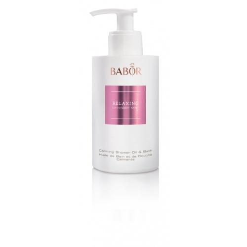 BABOR Relaxing Lavender Mint Calming Shower Oil & Bath, Verwennende douche- en badolie