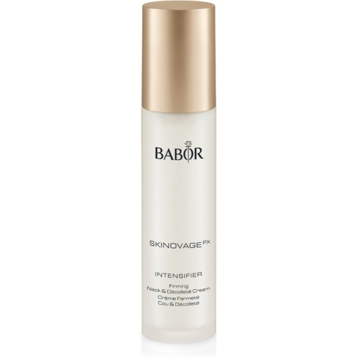 BABOR Intensifier Firming Neck en Decollete Cream een direct optisch effect