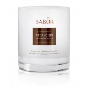 BABOR Balancing Cashmere Wood Soothing Massage Candle - Geurkaars en massagebalsem