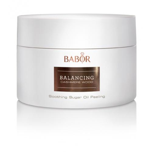 BABOR Balancing Cashmere Wood Soothing Sugar Oil Peeling - Uw huid gladder en gelijkmatiger