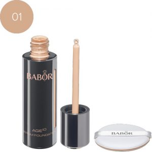 BABOR Foundation AGE ID Serum Foundation 01 ivory optisch direct lifting-effect