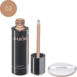 BABOR Foundation AGE ID Serum Foundation 02 natural, voor een natuurlijke look!