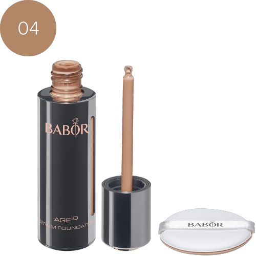 BABOR Foundation AGE ID Serum Foundation 04 sunny optisch direct lifting-effect