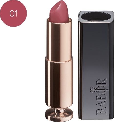 BABOR Lippenstift Creamy Lip Colour 01 nude pink extra verzorgende lippenstift