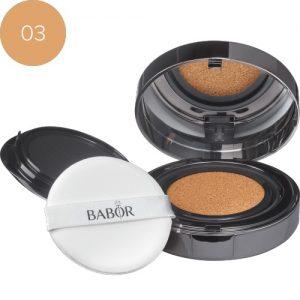 BABOR Foundation Cushion Foundation 03 almond een optisch direct lifting-effect
