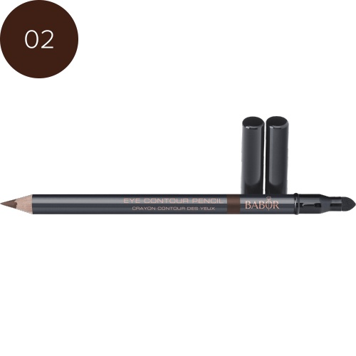 BABOR Oogschaduw Eye Contour Pencil 02 brown - Long-lasting oogcontourpotlood