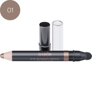 BABOR Oogschaduw Eye Shadow Pencil 01 shiny rose waterproof, extreem long-lasting