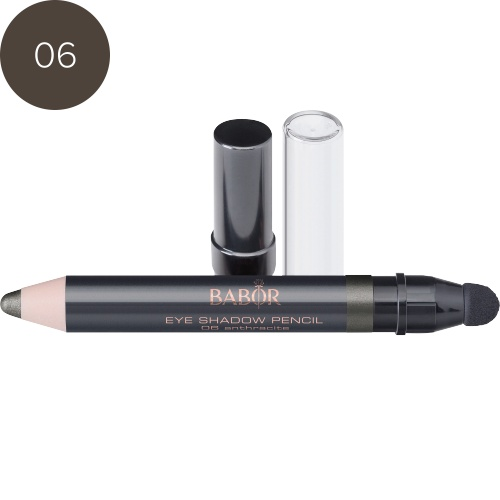 BABOR Oogschaduw Eye Shadow Pencil 06 anthracite - Extreem long-lasting