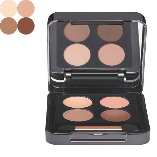 BABOR Oogschaduw Eye Shadow Quattro 01 warm de zijdeachtige oogschaduw