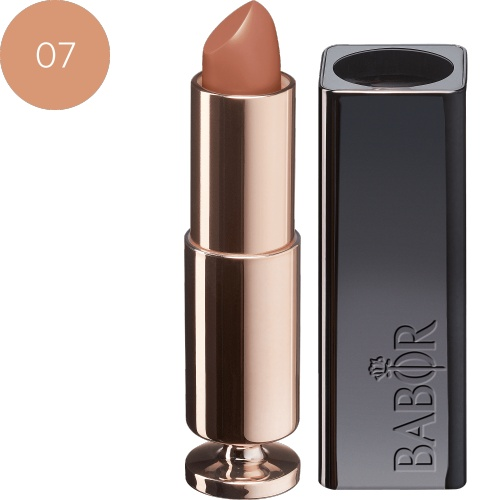 BABOR Lippenstift Glossy Lip Colour 07 just nude - Long-lasting lippenstift
