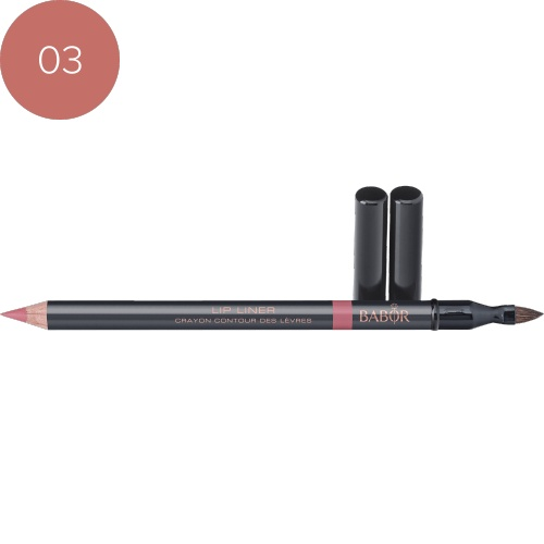 BABOR Lipliner Lip Liner 03 nude rose lippencontourpotlood met lange werking