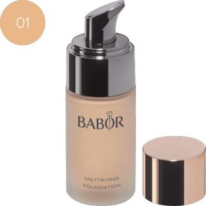 BABOR Concealer Mattifying Foundation 01 ivory - Maskeert onregelmatigheden