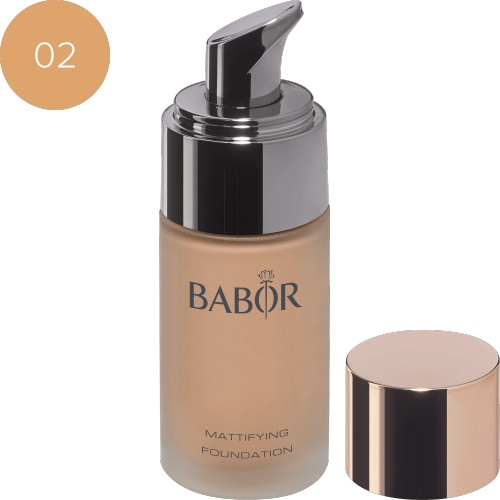BABOR Foundation Mattifying Foundation 02 natural - Natuurlijke look