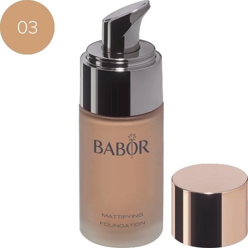 BABOR Foundation Mattifying Foundation 03 almond - Verzorgde en natuurlijke look
