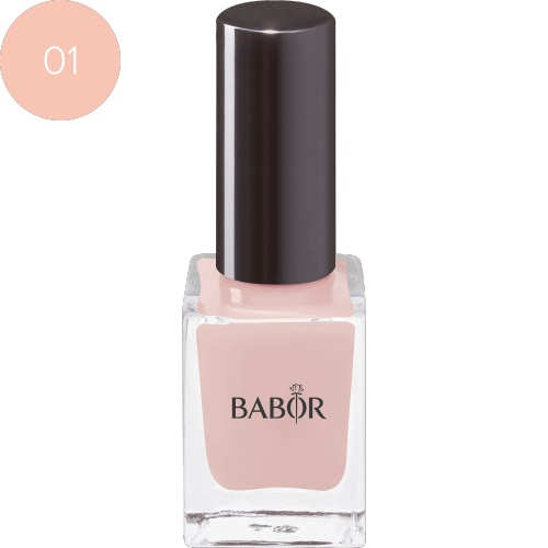 BABOR Nagellak Nail Colour 01 porcelain briljante, duurzame nagellak