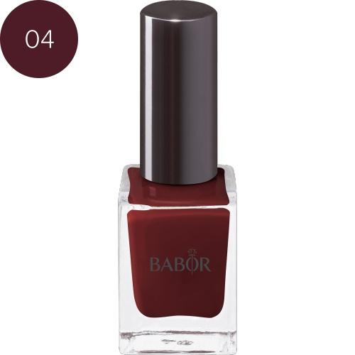 BABOR Nagellak Nail Colour 04 rouge noir briljante, duurzame nagellak