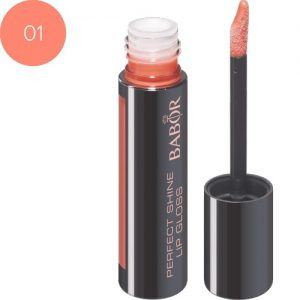 BABOR Lipgloss Perfect Lip Gloss 01 beach orange verzorgende high-shine lipgloss