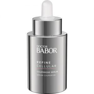 BABOR Refine Cellular Couperose Serum huidroodheden worden zichtbaar verlicht.